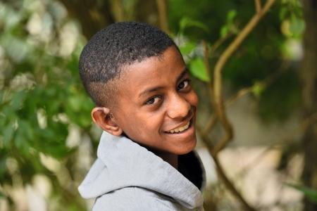 Porträt eines lächelnden Jungen