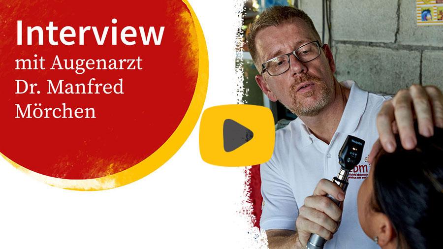 Interview mit Augenarzt Dr. Manfred Mörchen