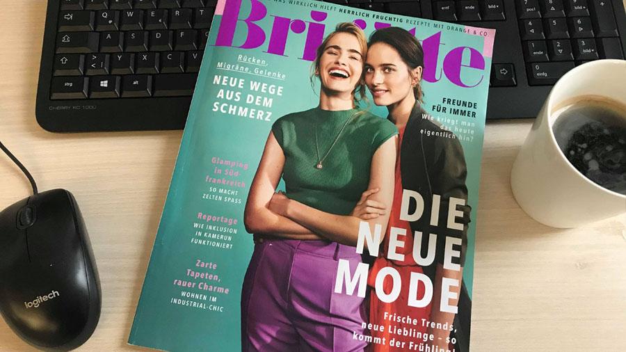 Cover der Frauenzeitschrift Brigitte